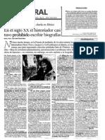 Art. Francois Dosse Periódico el Financiero