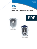 Apco Airvacuum Valves Avv Sales 601
