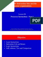 CompArchCh04L09ProcessorInstructionsPart2
