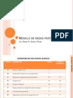 Modelo de Redes Pert (Ejemplo)