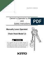 L5 Owner's Manual (Rev.0305-KC-04)