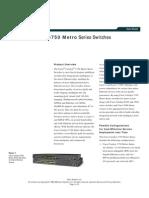 Cisco 3750 Datasheet