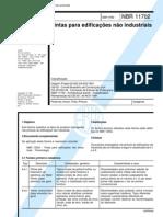 NBR 11702 - Tintas Para Edificacoes Nao Industriais