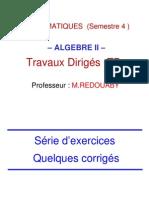 Algébre TD (Partie 1)