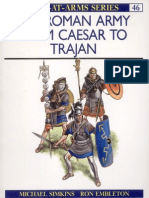 47017615 Osprey Men046 the Roman Army From Caesar to Trajan New Edition