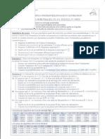 Controles Estimations & échantillonage