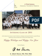 Holiday Card From Dean Reece 2011