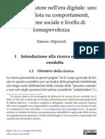 Il diritto d'autore nell'era digitale (survey) - Aliprandi (2013)