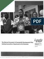 Lovely's Economic Plan 2013