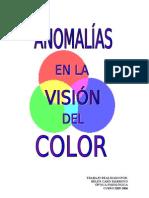 ANOMALÍAS EN LA VISIÓN DEL COLOR