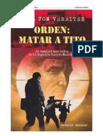 (1978) Orden Matar a Tito - Karl Von Vereiter