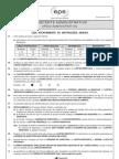 Cesgranrio 2012 Epe Assistente Administrativo Prova