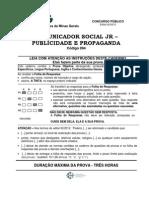 (PRV) CEMIG - 2012 - FUNDEP - Comunicador Social Jr. Publicidade e Propaganda