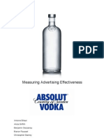 Advertising Effectiveness Study