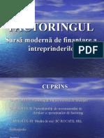 Factoringul, Sursa Moderna de Finantare a Intreprinderilor
