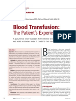 Original Research Blood Transfusion the.21