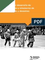 Guia-Guia Para El Desarrollo de Simulaciones y Simulacros de Emergencias y Desastres