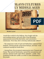 7 - South Slavs cultures in early Middle Ages
