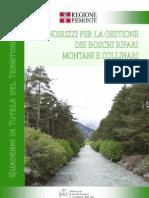 Indirizzi per la gestione dei boschi ripari montani e collinari