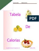 Valdirene Silva Livro Tabela de Calorias