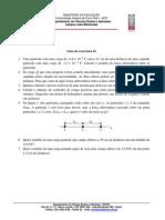 Fisica II Exercicios 01