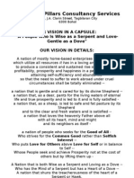 The Seven Pillars Consultancy Services - Vision and Mission