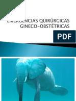 Emergencias Ginecologicas Seminario Postgrado