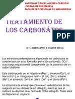 NO METÁLICOS 13 carbonatos