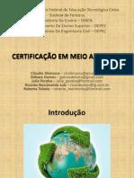 Apresentação Certificação Ambiental - Versão 1.ppt