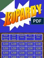 Jeopardy Slope