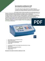 Medidor fotométrico multifunción C 200