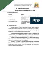 Plan de Replica de La UGEL- Sihuas