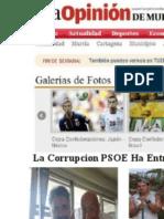 PSOE MURCIA CORRUPCION CON ACADEMIA INGLESGARANTIZADO La Opinion periodico