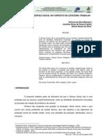 UMA ANÁLISE DO SERVIÇO SOCIAL NO CONTEXTO DA CATEGORIA TRABALHO