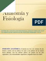 Fisiologia Y Anatomia Basica
