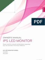 LG IPS MED Monitor User Manual