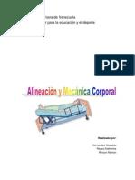 Alineacion y Mecanica Corporal