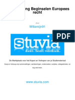 Stuvia 83364 Samenvatting Europeesrecht Boek Alles f