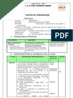 54521401 SESION de APRENDIZAJE Polinomios Operaciones Nuevo