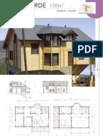 arquitetura e construção - 27 planos casas - 150-200m2