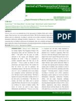 Plumeria Rubra L, Apocynaceae or Dogbane