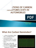 Applications of Cnt in Automobiles