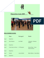 danseliste forår 2009