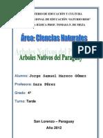 Arboles Nativos Del Paraguay