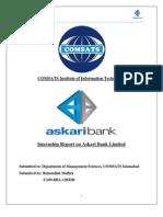 Internship Report on Askari Bank Limited
