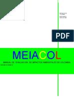 Manual de Evaluación de Impactos Ambientales