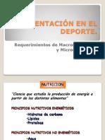 01 Requrimientos de Macronutrientes y Micronutrientes