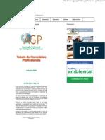 Honorários Profissionais _ AGP