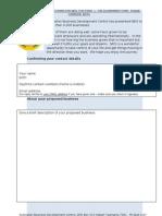 Application Form ABDC