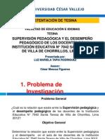 SUSTENTACIÓN DE TESINA